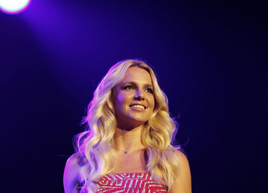 Britney Spears appears at 2011 Wango Tango concert in Los Angeles