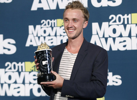 tom felton and jade mtv movie awards 2011. Photos: The 2011 MTV Movie