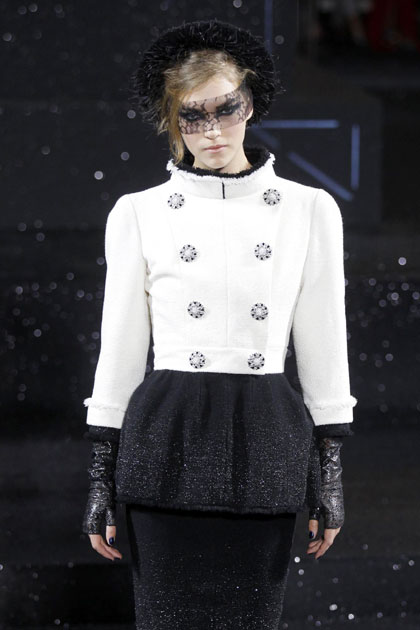 French Fashion House Chanel Haute Couture Fall Winter 2011