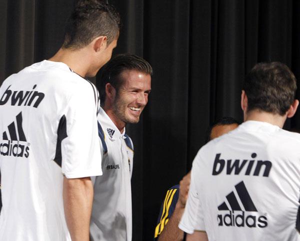 Beckham:Herbalife World Football Challenge 2011 soccer tournament