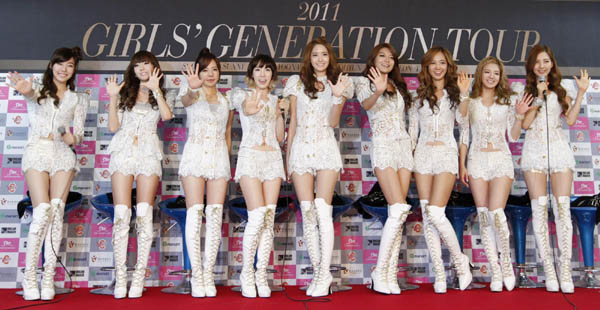 Girls Generation Perform In Seoul