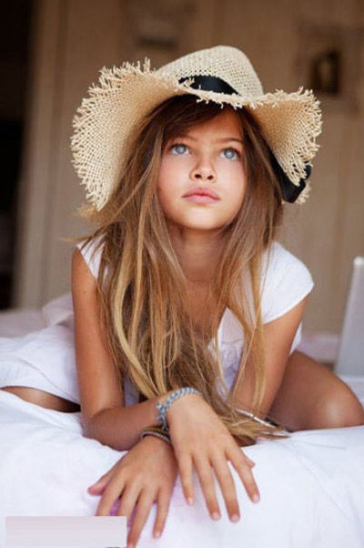 Ten-year-old French model stirs world