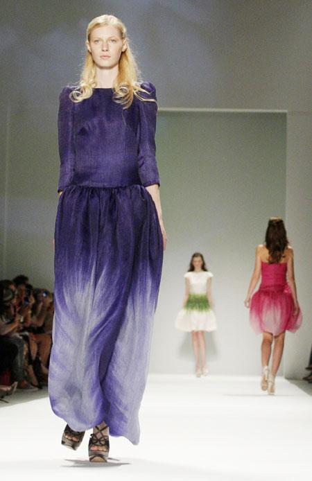 Tadashi Shoji Spring/Summer 2012 collection
