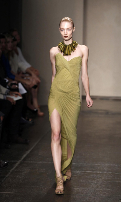 Donna Karen S/S 2012 collection