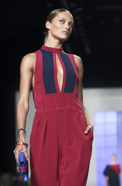 Tommy Hilfiger S/S 2012 collection