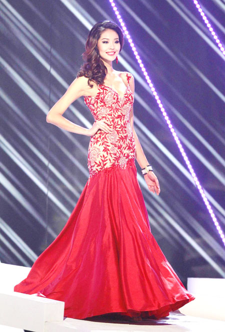 Miss China Luo Zilin in Miss Universe 2011 pageant|Style|chinadaily ...