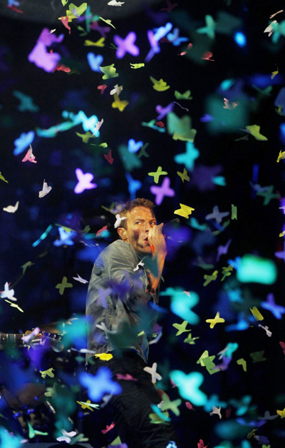 Coldplay presents new album 'Mylo Xyloto'|Music|chinadaily com cn