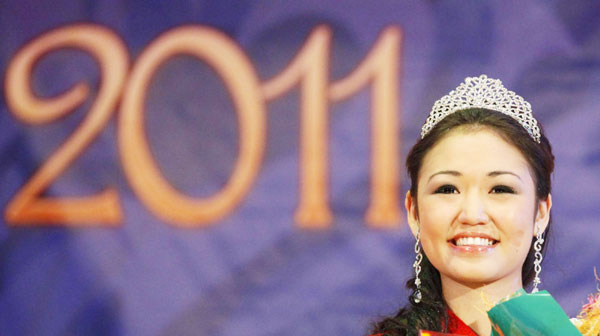 Miss Asia-Siberia amateur beauty contest held