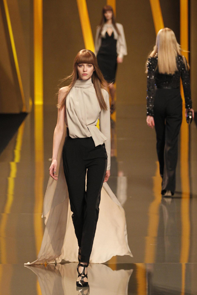 Elie Saab as part of his Fall/Winter 2012-2013 women's ready-to-wear