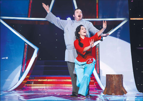 orm on popular TV talent show, Star Way. Provided to China Daily Star