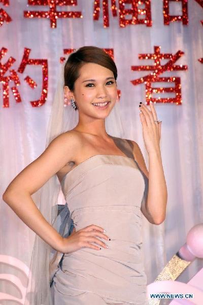 Rainie Yang 2012 Singer Rainie Yang Promotes