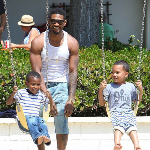 Usher selling mansion ex lives at |Celebrities |chinadaily ...