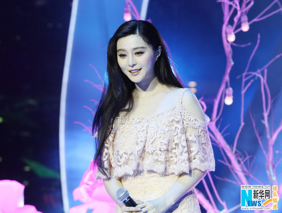 Fan Bingbing sings at new year concert[7]|chinadaily com cn