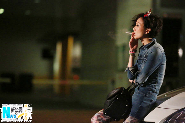 Sammi Cheng in Blind Detective | Movies |chinadaily.com.cn