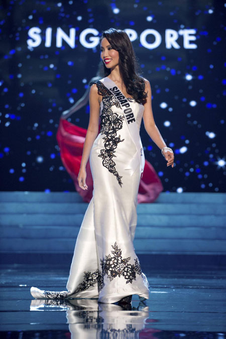 2012 Miss Universe Evening Gown show[28]- Chinadaily.com.cn