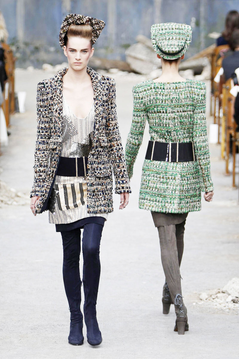 Chanel F W 2013 14 collection released in Paris 12  2b99375e5208