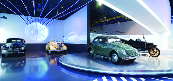 Vintage Car Exhibition Opens In Shanghai Chinadailycomcn - Exhibition car