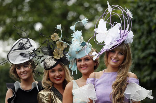 Fashionable Hats At Royal Ascot Horse Racing Festival