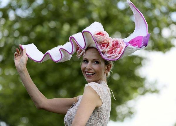 Fashionable Hats At Royal Ascot Horse Racing Festival