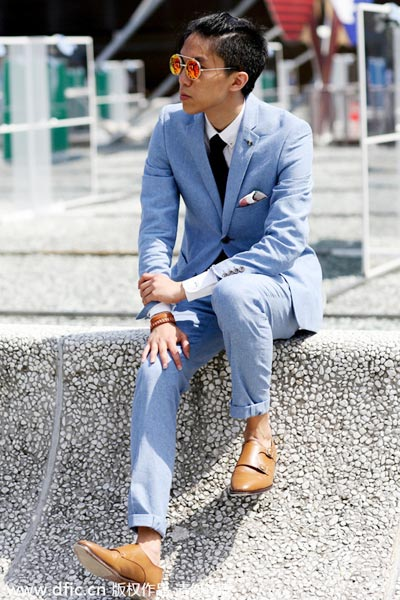 2015 s s florence men 39 s fashion week 4 Fashion week 2015 men s hairstyle