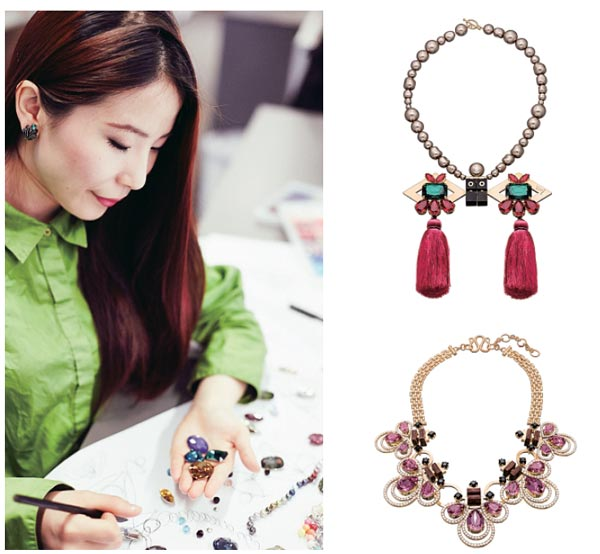Crystalclear vision of jewelry designers2 Chinadailycomcn