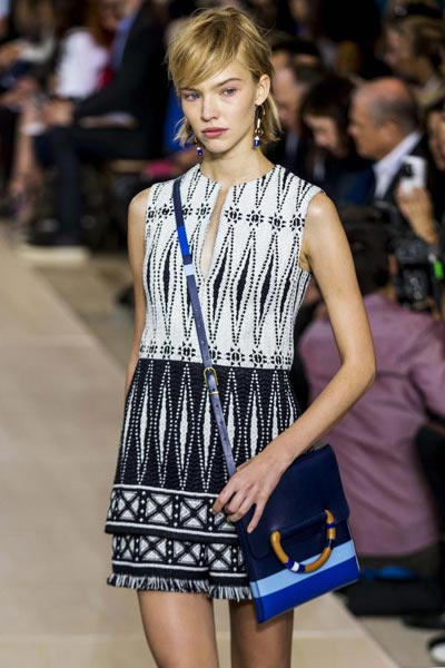 6a74942806ba Tory Burch Spring Summer 2015 collection 2 - Chinadaily.com.cn