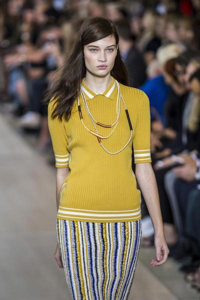0f4d0a35af3d Tory Burch Spring Summer 2015 collection 3 - Chinadaily.com.cn