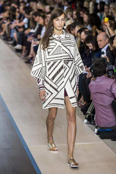 139d001a42ef Tory Burch Spring Summer 2015 collection 5 - Chinadaily.com.cn