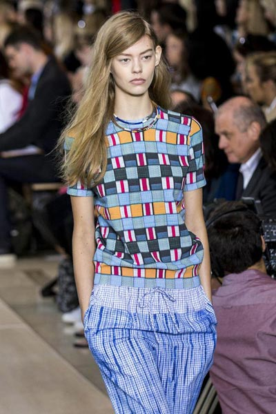 7c262d18b966 Tory Burch Spring Summer 2015 collection 6 - Chinadaily.com.cn