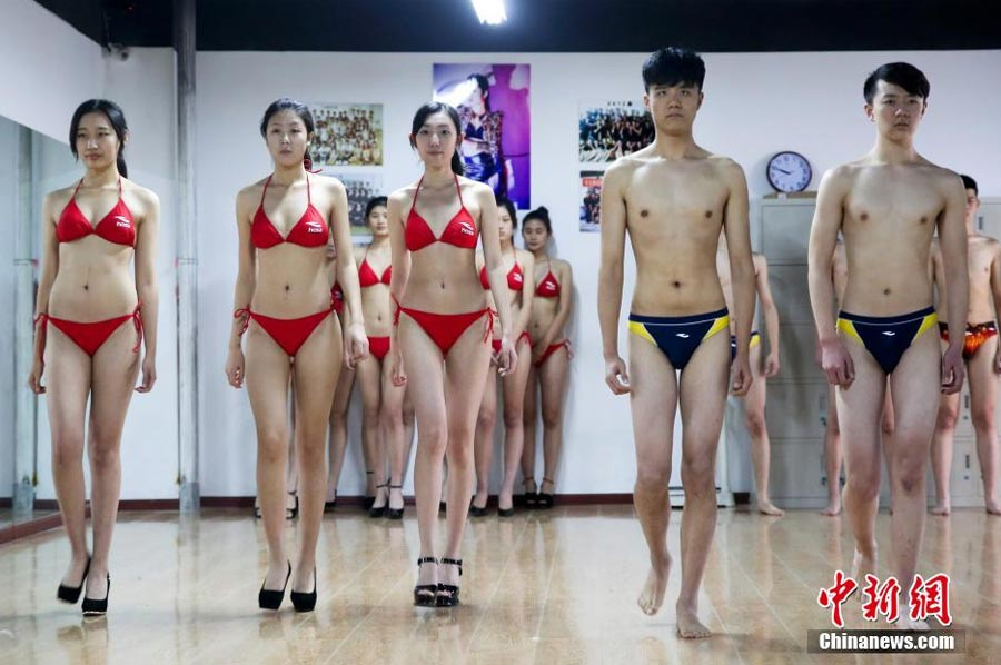 strike a pose for modelling school 4 chinadaily com cn