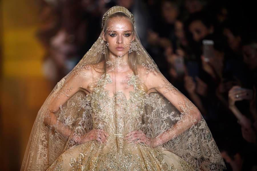 Elie saab haute couture f w 2015 16 1 for How to become a haute couture designer