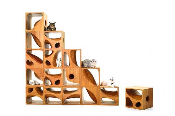 Furniture Designs feline flavor in architect's furniture designs[1]- chinadaily.cn