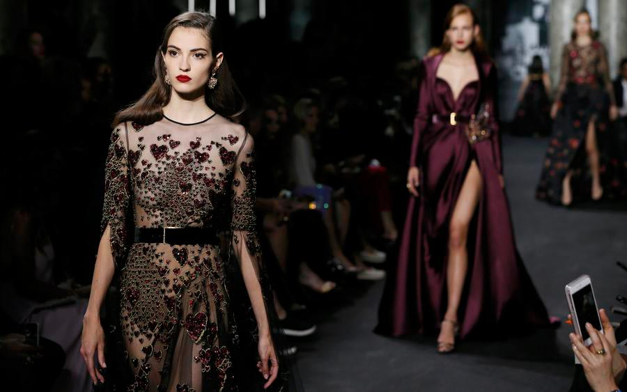 Elie saab haute couture fall winter 2016 17 collection 7 for New haute couture designers