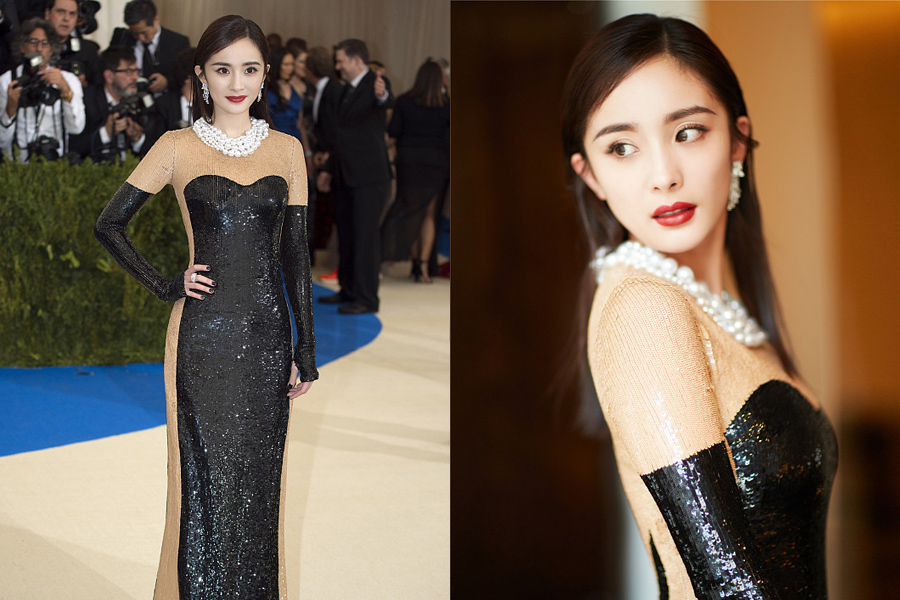 red carpet review chinese celebrities shine at the met gala 1