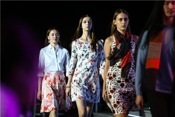 Chinese models begin to dominate nation's catwalks
