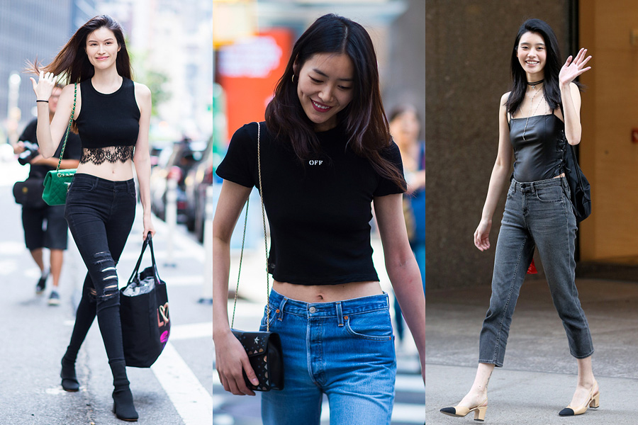 Six Chinese faces to delight 2017 Victoria's Secret Fashion show