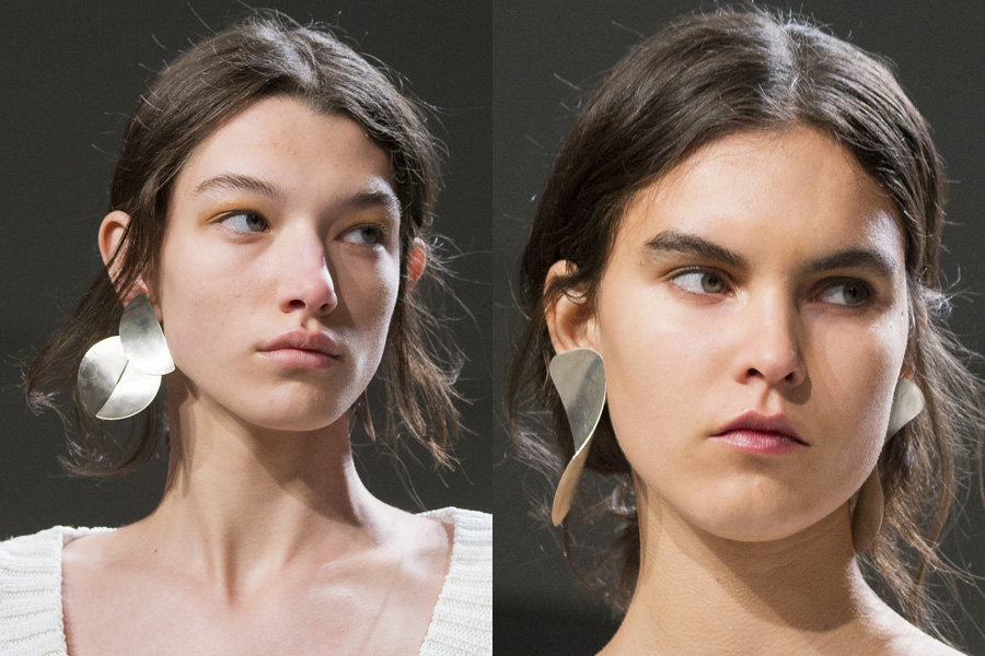 2018 Spring Summer Fashion Trend Heavy Metal Earrings