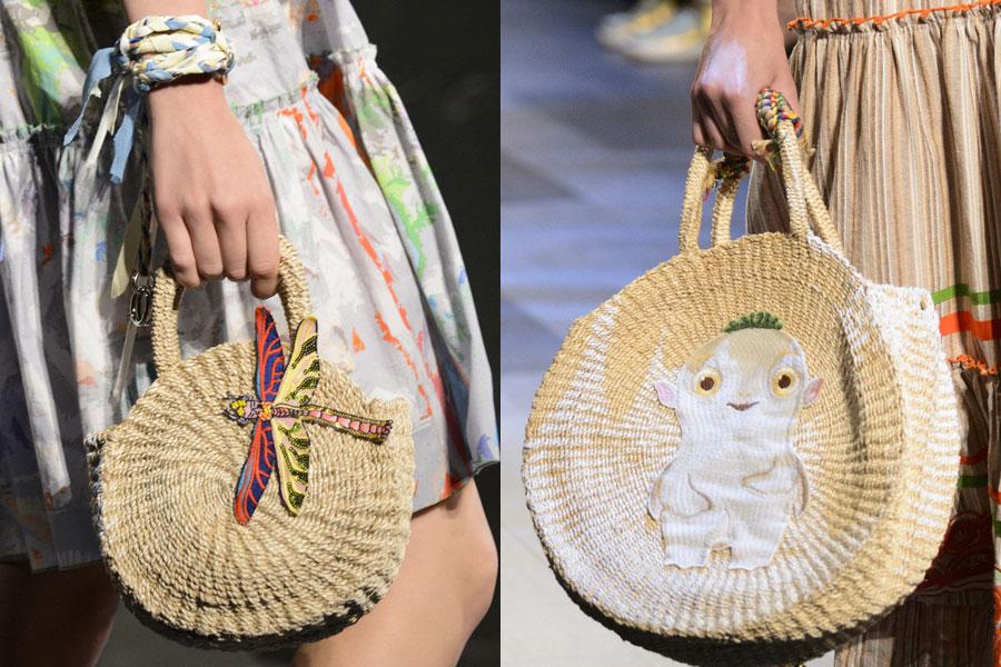 2018 Spring Summer Fashion Trend Circular Handbag