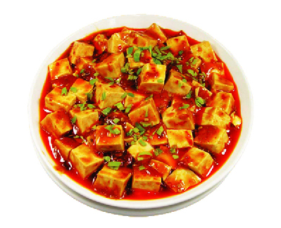 Mapo Tofu (or Sichuan Bean Curd, Stir-fried Tofu in Hot Sauce)