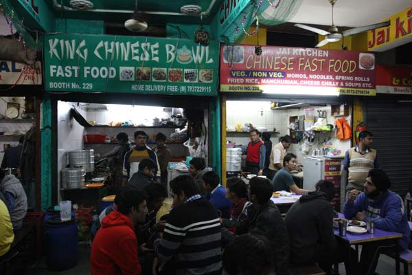 Night Food Street Chandigarh