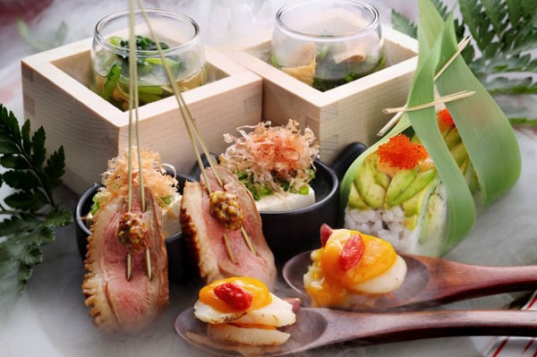 Rice sets elegant tone for Japanese meal