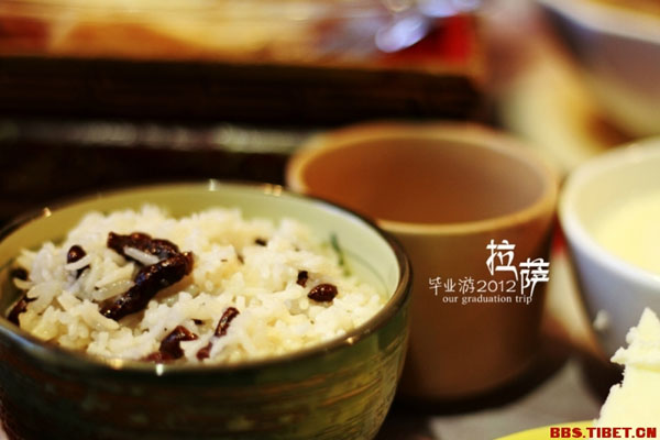 Delicacies on your journey in Tibet