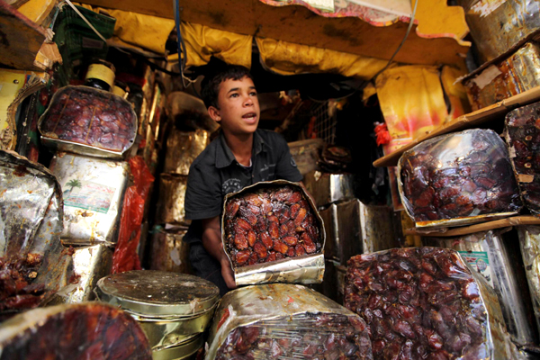 People prepare for Ramadan
