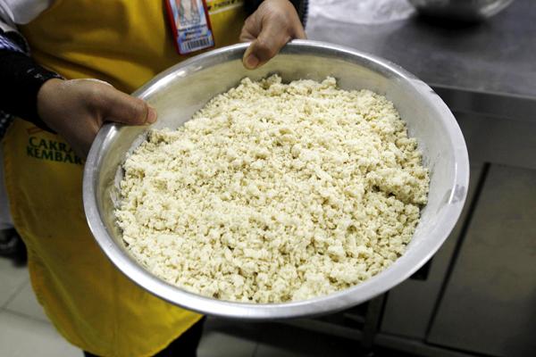 Street food in Jakarta:noodles
