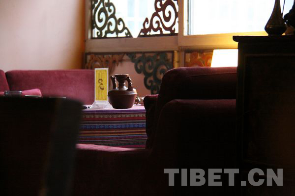 Sweet tea: refresher of leisure time in Lhasa