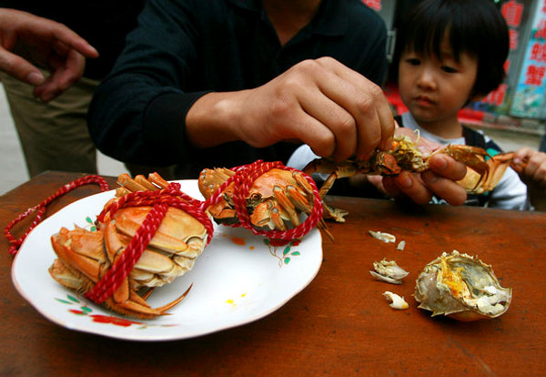 Link to Crab industry feels the pinch in frugal times