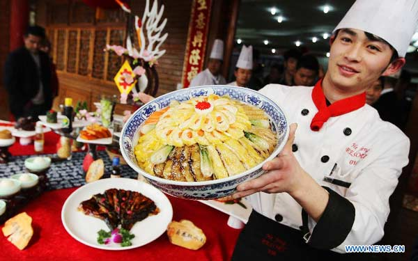 Rural specialties cookoff held in Shanghai