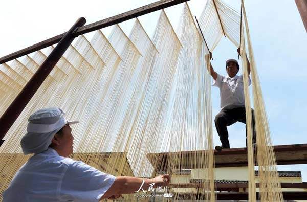 The Hakka 'Kung Fu' noodle in north Sichuan
