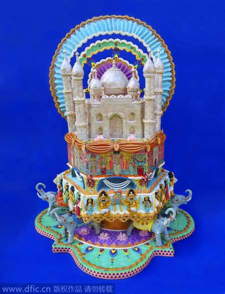 Cake art explores world cultures