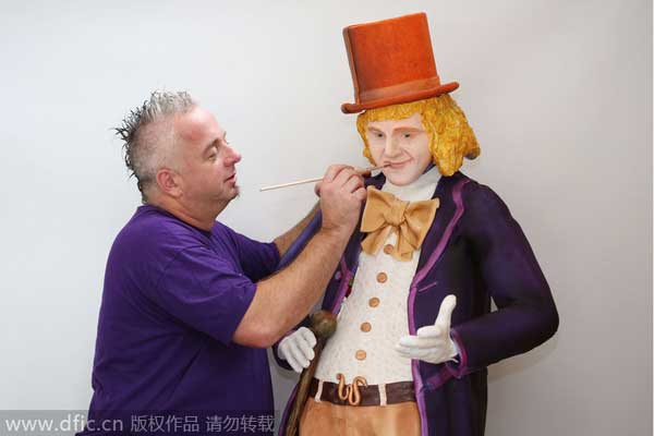 Charlie And The Chocolate Factory Augustus Cake